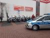 Polizei-Escorte